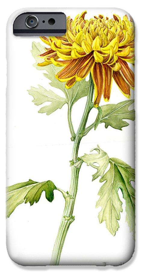Deco Mum IPhone 6 Case featuring the painting Deco Mum by Fran Henig