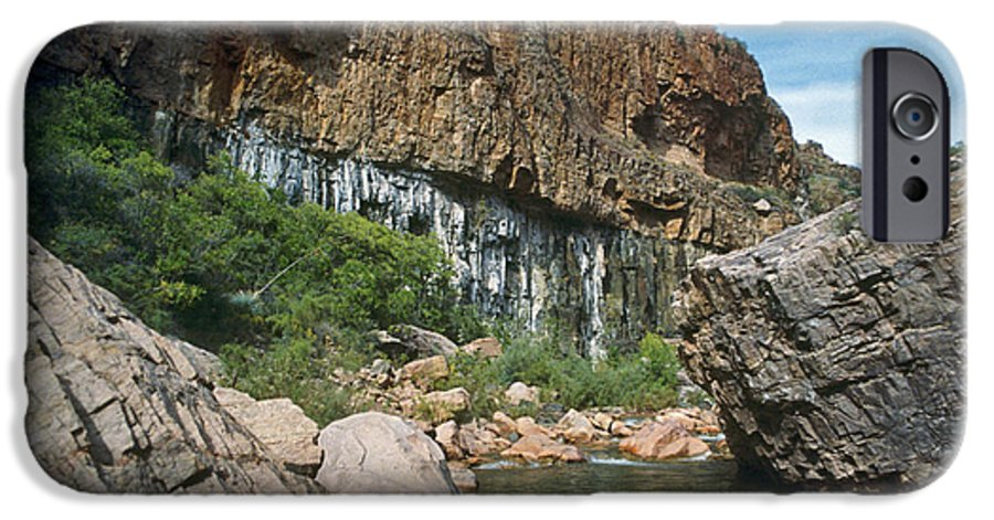 Landscape IPhone 6 Case featuring the photograph Deep Water by Kathy McClure