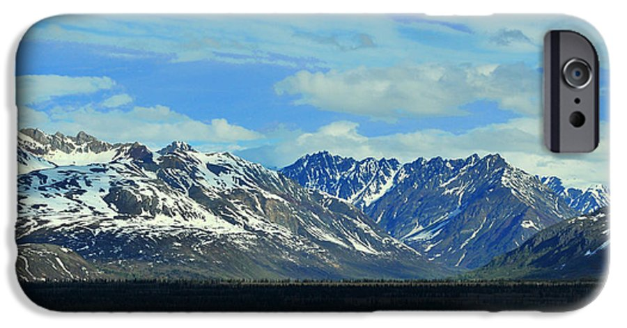 Denali IPhone 6 Case featuring the photograph Denali Valley by Keith Gondron