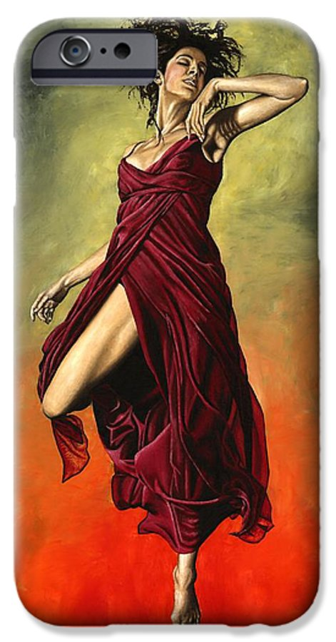 Dance IPhone 6 Case featuring the painting Destiny's Dance by Richard Young