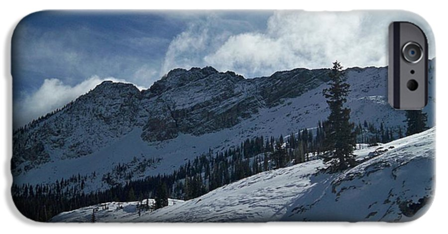 Ski IPhone 6 Case featuring the photograph Devils Castle Morning Light by Michael Cuozzo