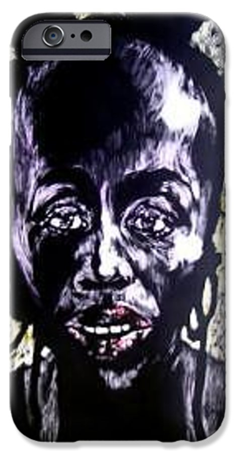 International Womens Day IPhone 6 Case featuring the mixed media Digital Divide by Chester Elmore