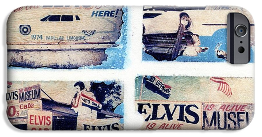 Elvis IPhone 6 Case featuring the photograph Disgraceland by Jane Linders