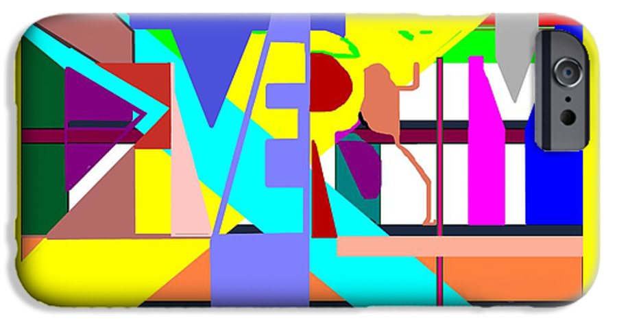 Diversity IPhone 6 Case featuring the digital art Diversity Enmeshed by Pharris Art