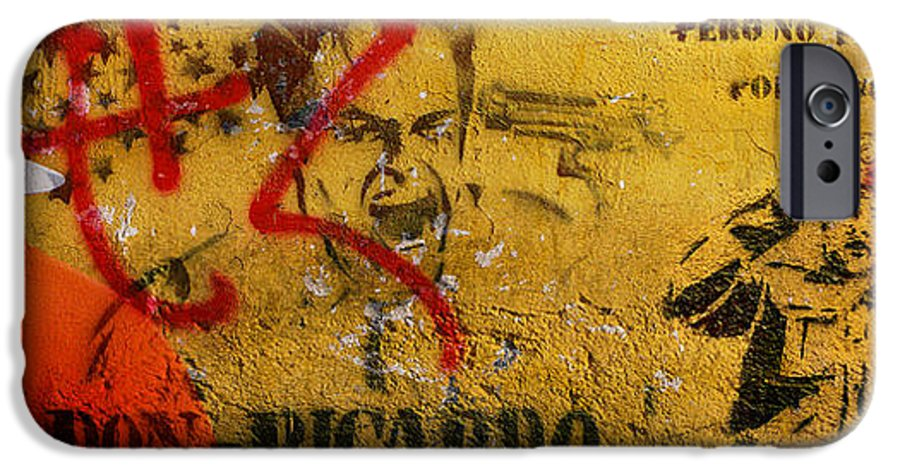 Grafitti IPhone 6 Case featuring the photograph Don-ricardo by Skip Hunt