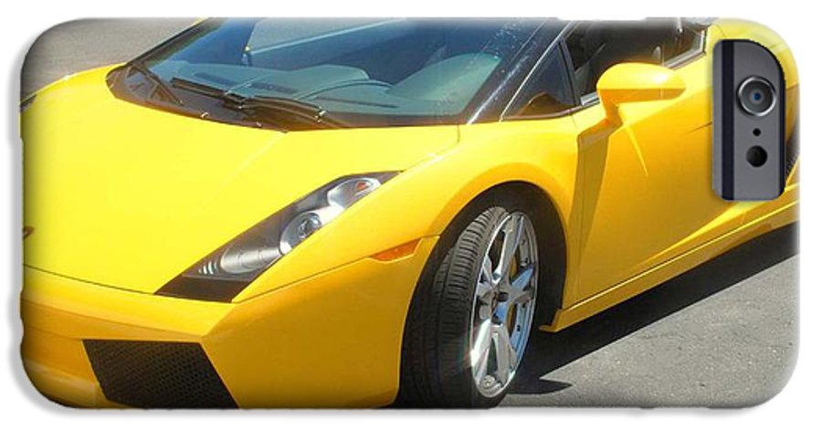 Car IPhone 6 Case featuring the photograph Dream Car by Margaret Fortunato