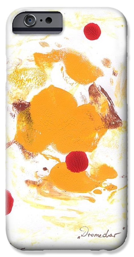 Decalcomanie IPhone 6 Case featuring the painting Dromedar by Michael Puya