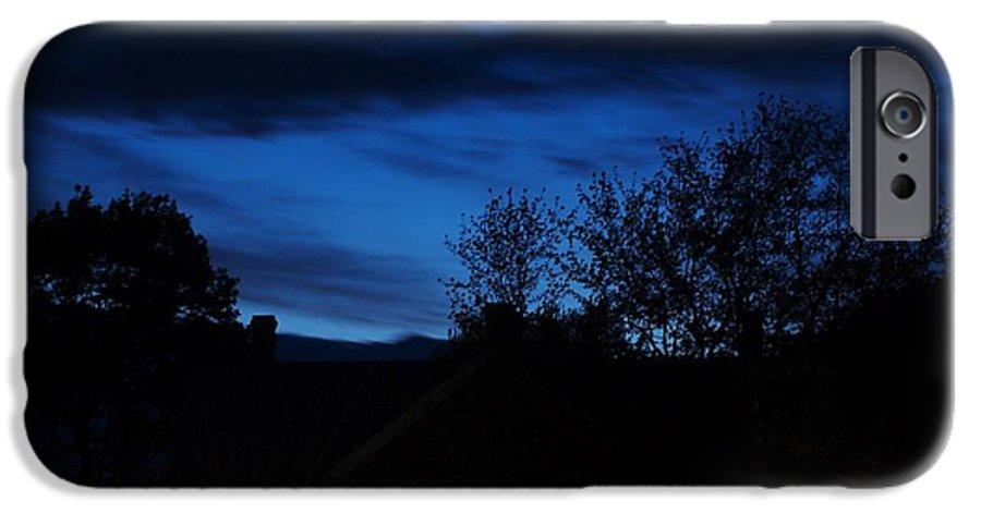 Silhouette IPhone 6 Case featuring the photograph Dusk by Faith Harron Boudreau