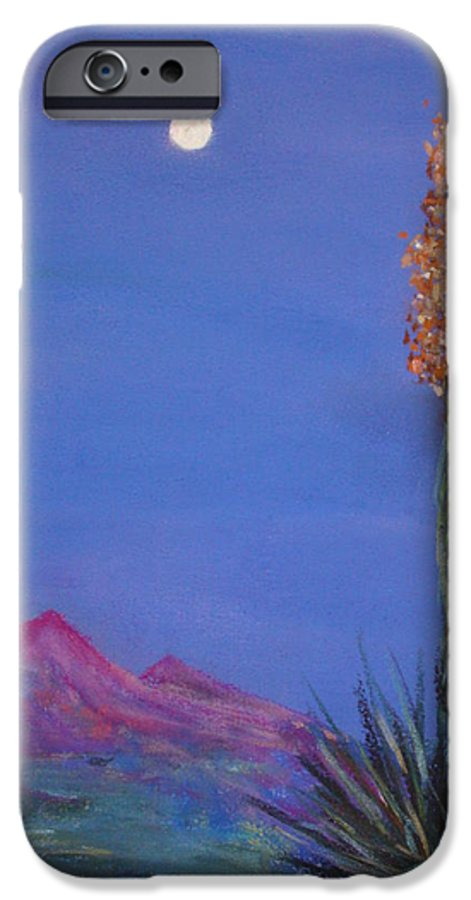 Evening IPhone 6 Case featuring the painting Dusk by Melinda Etzold