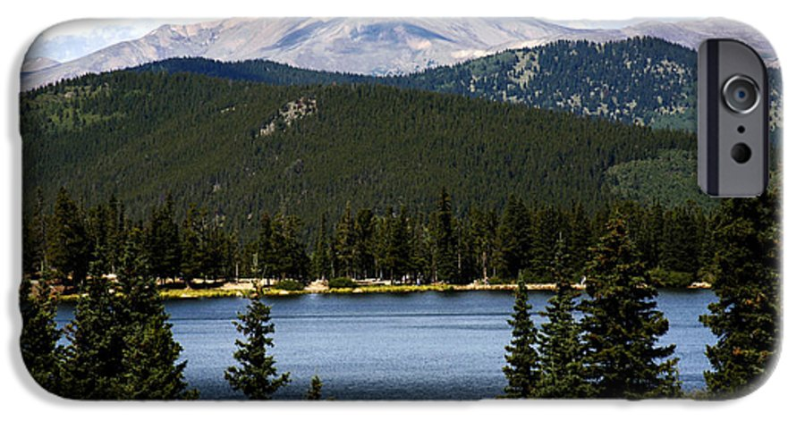 Colorado IPhone 6 Case featuring the photograph Echo Lake Colorado by Marilyn Hunt