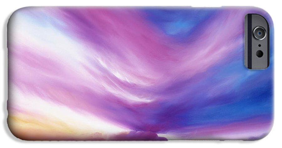 Clouds IPhone 6 Case featuring the painting Ecstacy by James Christopher Hill