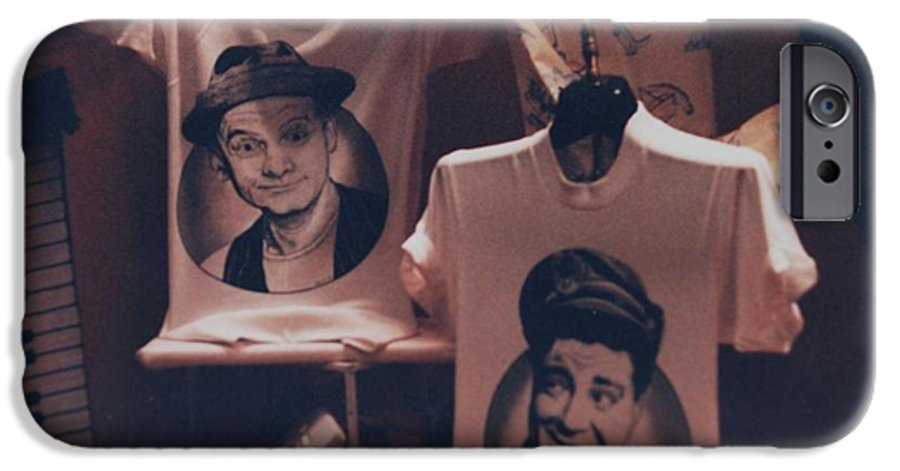 The Honeymooners IPhone 6 Case featuring the photograph Ed And Ralphie Boy by Rob Hans
