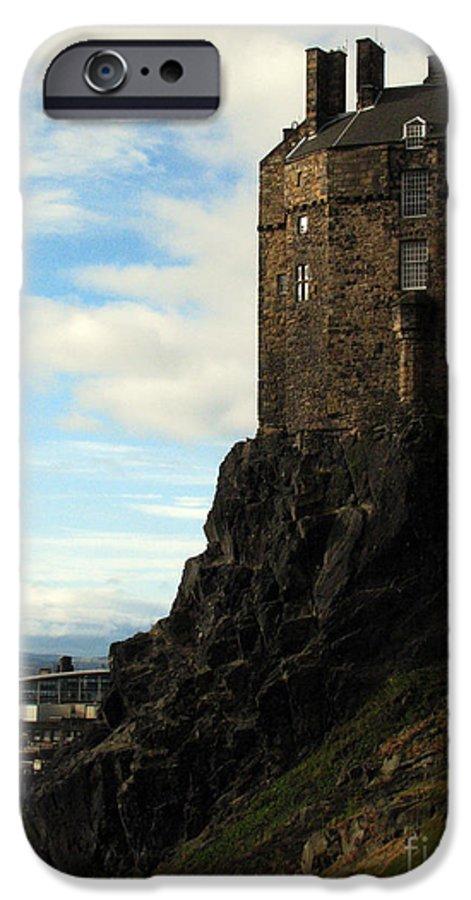 Castle IPhone 6 Case featuring the photograph Edinburgh Castle by Amanda Barcon