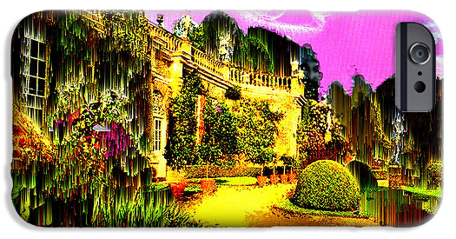Mansion IPhone 6 Case featuring the digital art Eerie Estate by Seth Weaver