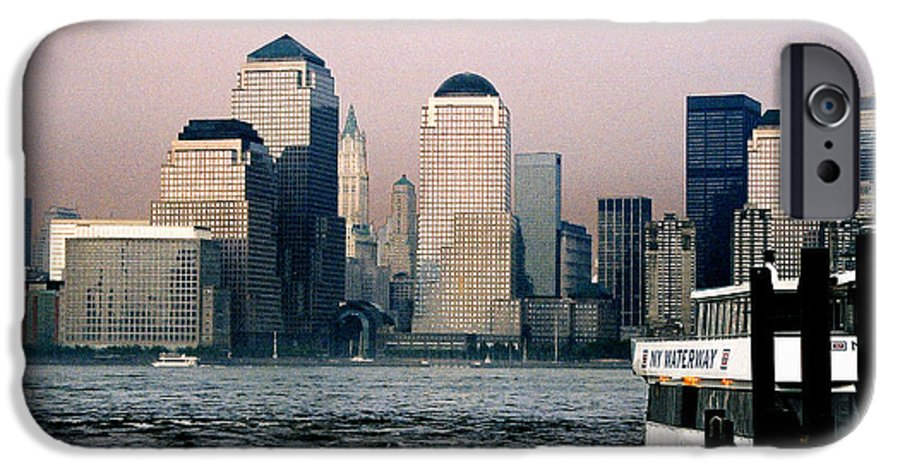 New York IPhone 6 Case featuring the photograph Empty Sky by Steve Karol