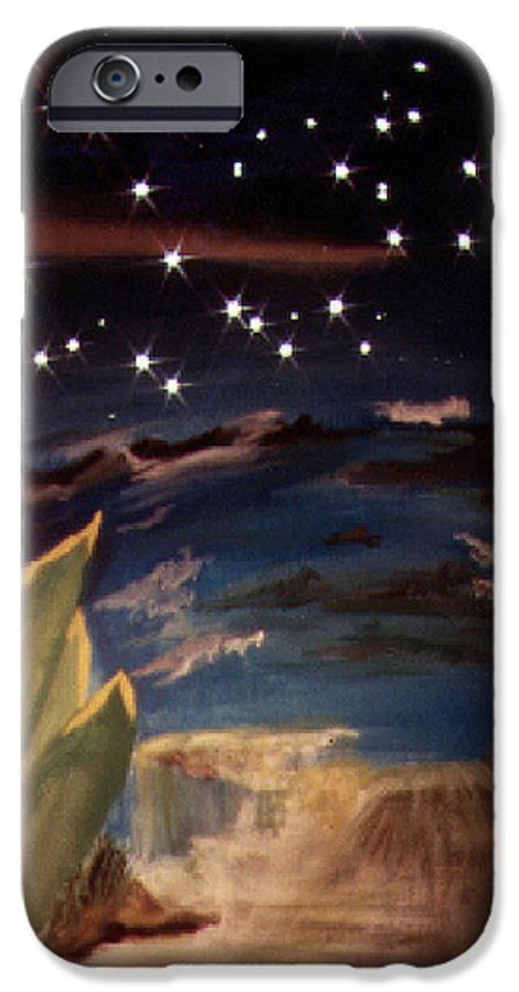 Surreal IPhone 6 Case featuring the painting Enter My Dream by Steve Karol