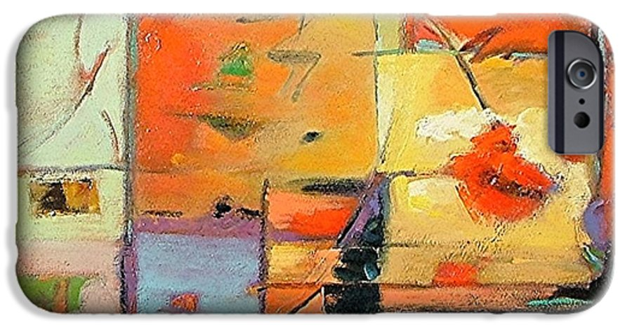 Abstract Painting IPhone 6 Case featuring the painting Evening Light by Gary Coleman
