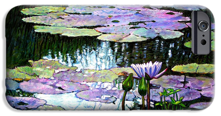 Landscape IPhone 6 Case featuring the painting Expressions Of Love And Peace by John Lautermilch