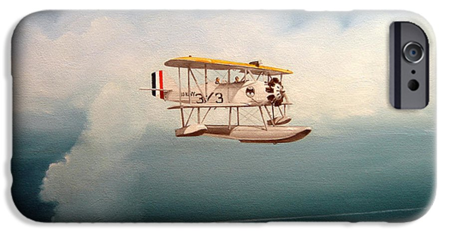 Military IPhone 6 Case featuring the painting Eyes Of The Fleet by Marc Stewart