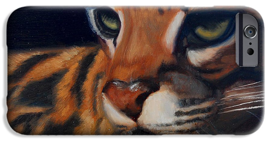 Painting IPhone 6 Case featuring the painting Eyes Wide Open by Greg Neal