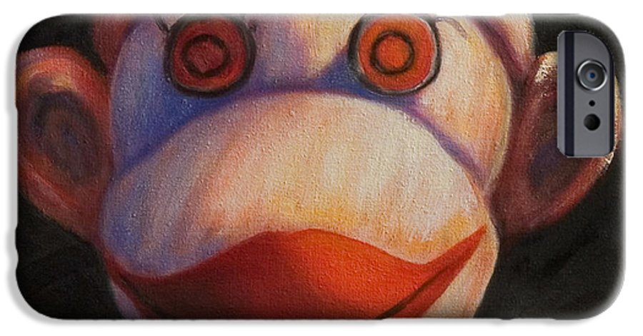 Children IPhone 6 Case featuring the painting Face by Shannon Grissom