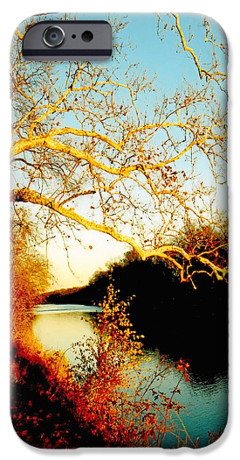 River IPhone 6 Case featuring the photograph Fall At The Raritan River In New Jersey by Christine Till