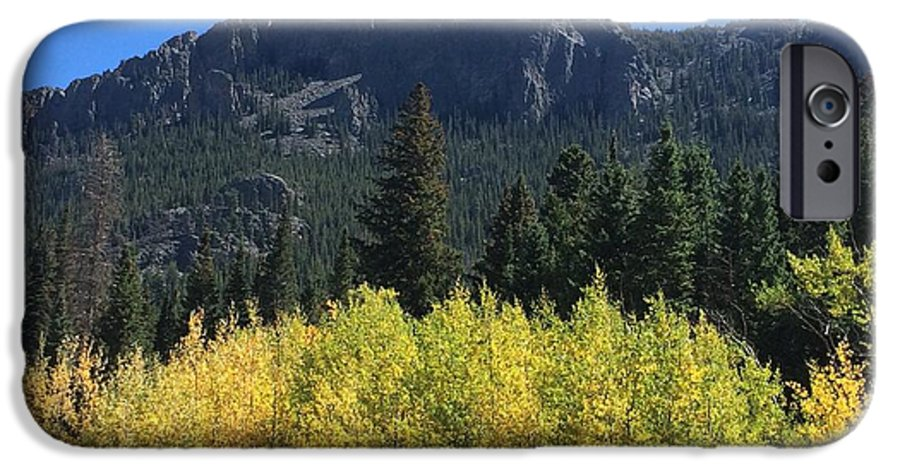 Landscape IPhone 6 Case featuring the photograph Fall At Twin Sisters by Kristen Anna