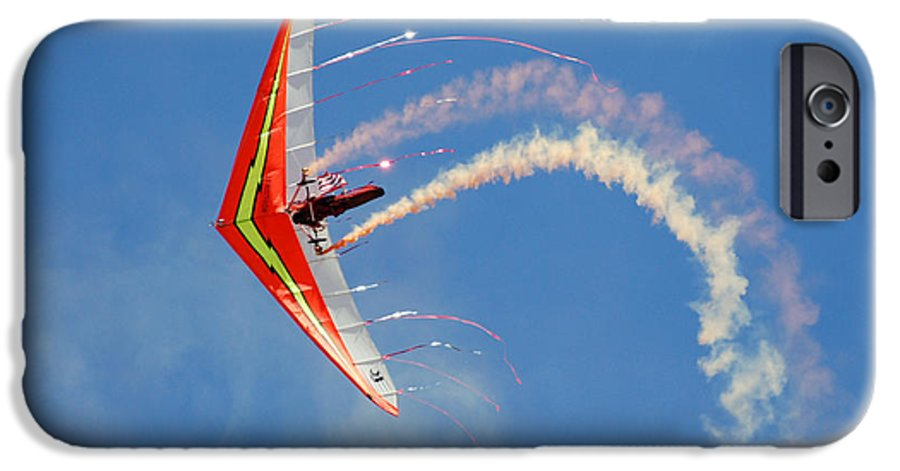 Sky IPhone 6 Case featuring the photograph Fantasy Flight by Larry Keahey