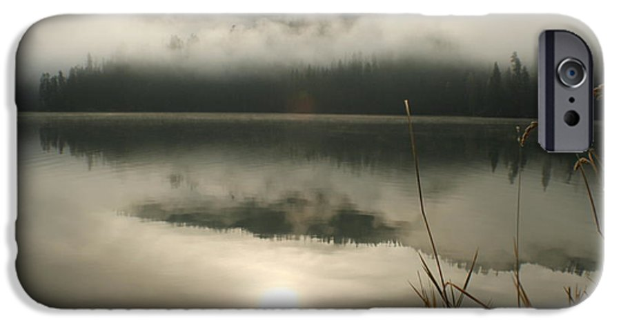 Mist IPhone 6 Case featuring the photograph Fernan Fog by Idaho Scenic Images Linda Lantzy