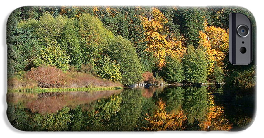 Fall IPhone 6 Case featuring the photograph Final Reflection by Larry Keahey
