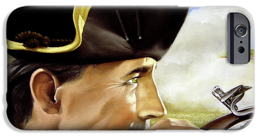 Continental IPhone 6 Case featuring the painting First To Fight by Marc Stewart