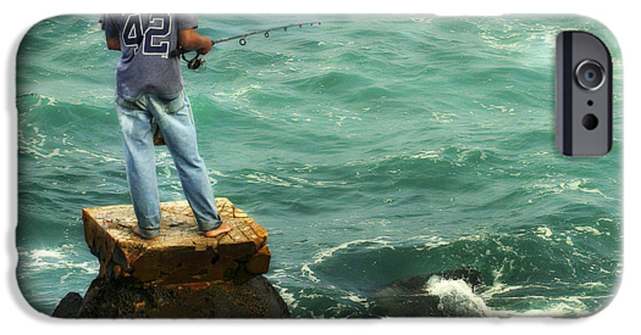 Americana IPhone 6 Case featuring the photograph Fisherman by Marilyn Hunt