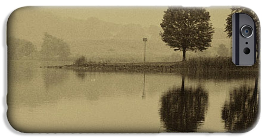 Fishing IPhone 6 Case featuring the photograph Fishing At Marsh Creek State Park Pa. by Jack Paolini