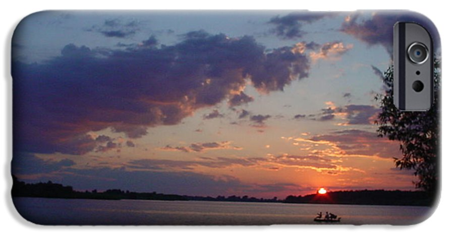 St.lawrence River IPhone 6 Case featuring the photograph Fishing On The St.lawrence River. by Jerrold Carton