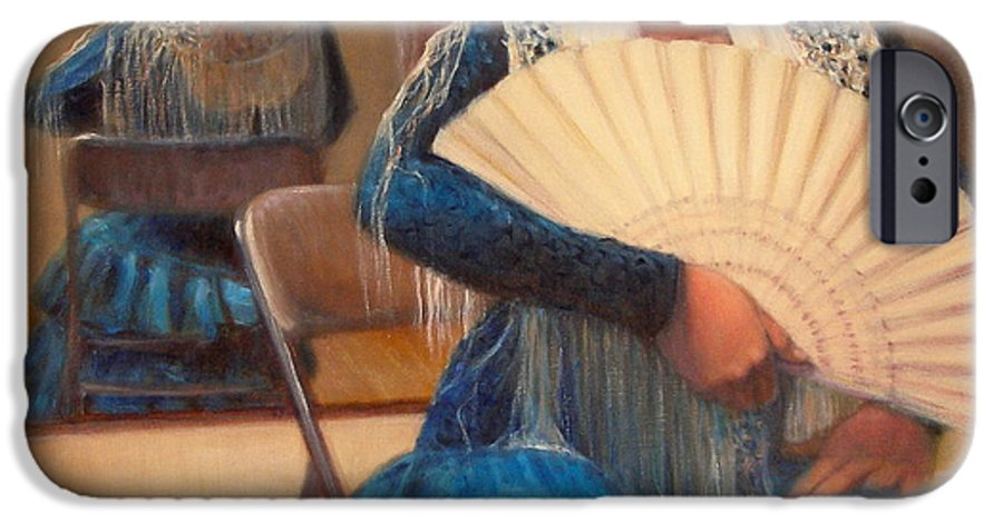 Realism IPhone 6 Case featuring the painting Flamenco 1 by Donelli DiMaria