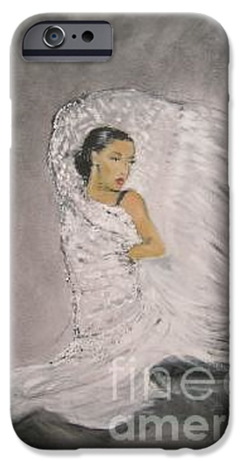 Spain IPhone 6 Case featuring the painting Flamenco by Lizzy Forrester