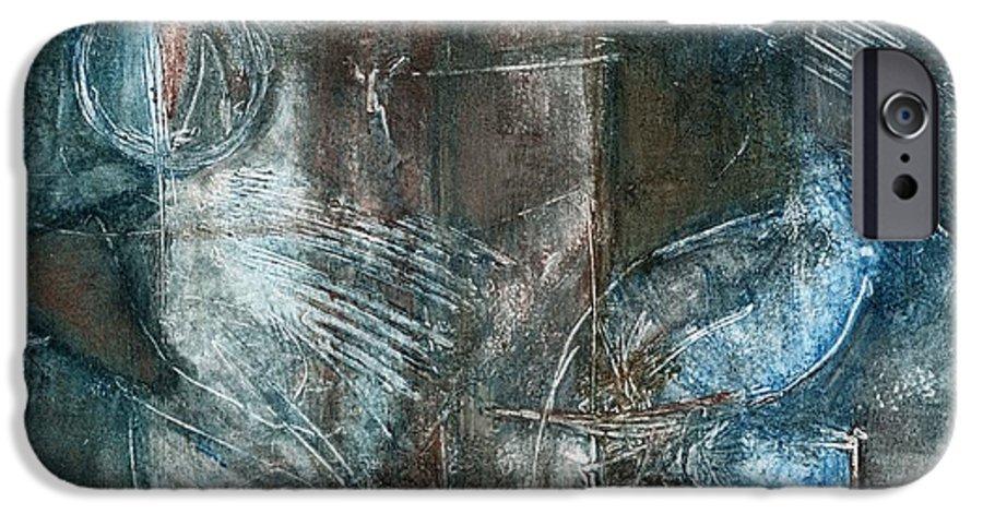 Flight IPhone 6 Case featuring the drawing Flight Passage by Kerryn Madsen- Pietsch