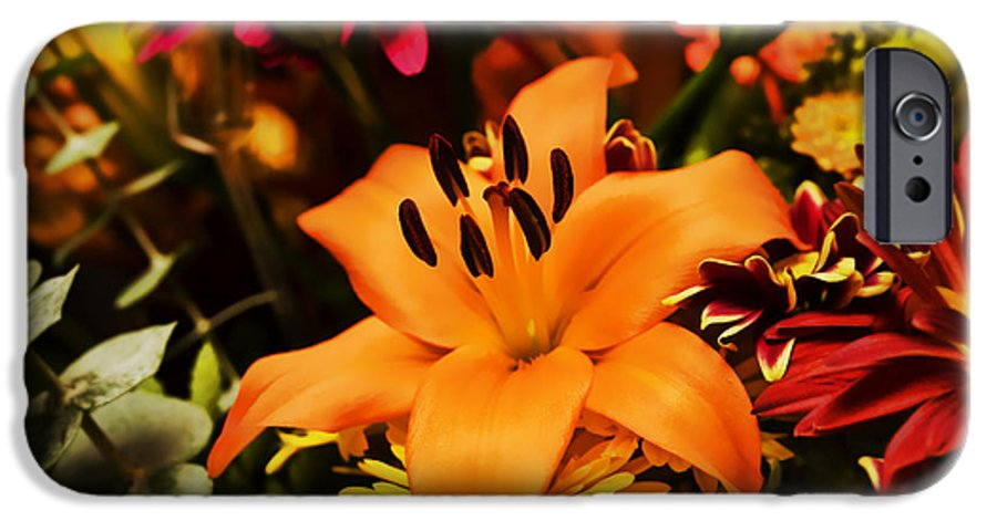 Flower IPhone 6 Case featuring the photograph Floral Arrangement by Al Mueller