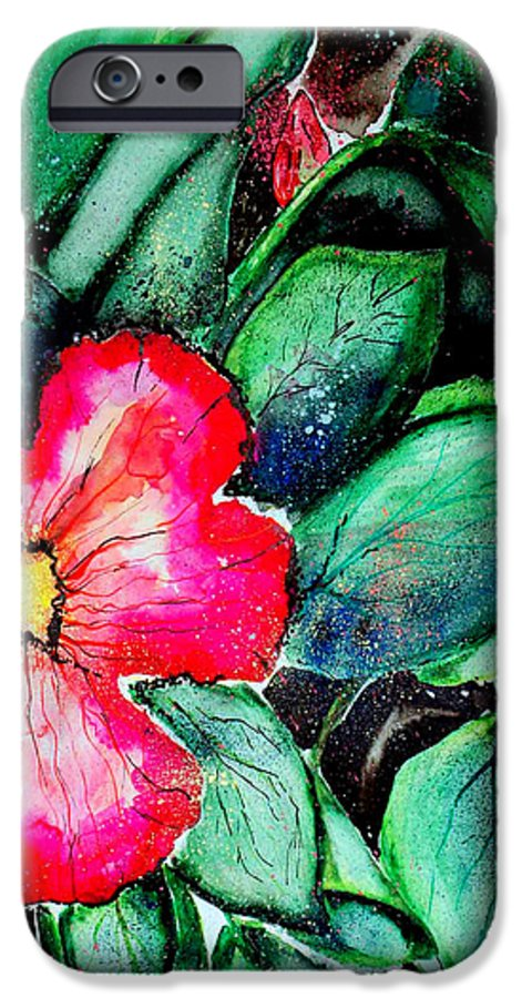 Exotic IPhone 6 Case featuring the photograph Florida Flower by Margaret Fortunato