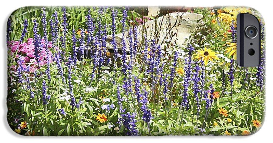 Flower IPhone 6 Case featuring the photograph Flower Garden by Margie Wildblood