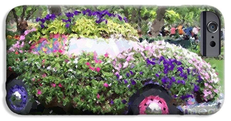 Cars IPhone 6 Case featuring the photograph Flower Power by Debbi Granruth