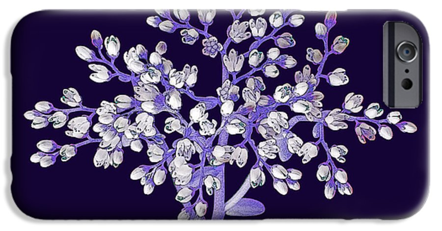 Flower IPhone 6 Case featuring the photograph Flower Tree by Digital Crafts