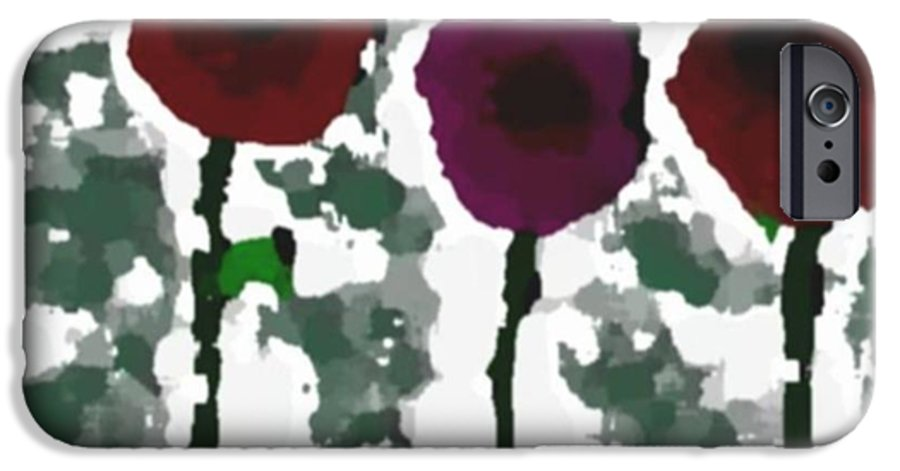 Flowers.love.happiness.gift.senses. Laughter IPhone 6 Case featuring the digital art Flowers Of Love by Dr Loifer Vladimir