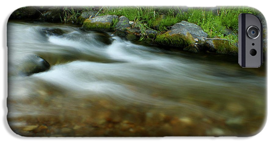 River IPhone 6 Case featuring the photograph Flowing by Idaho Scenic Images Linda Lantzy