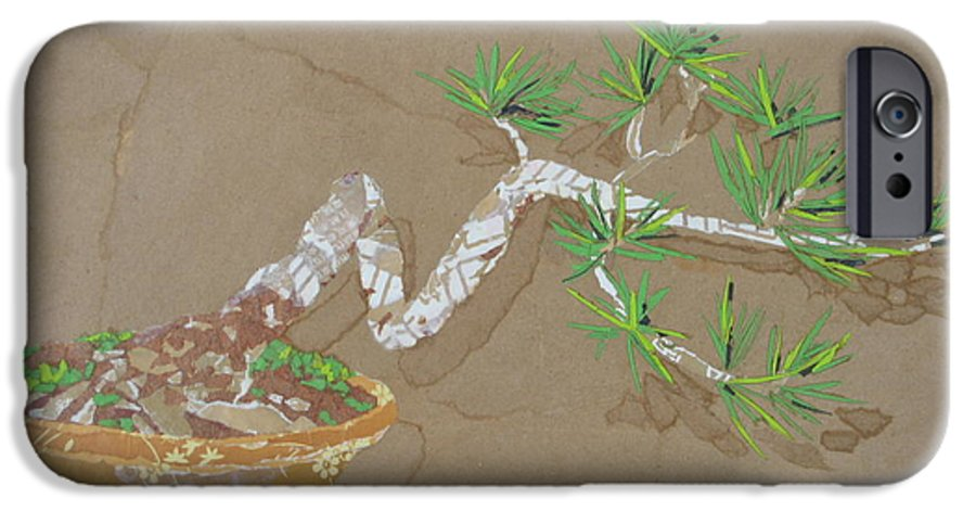 Banzai Tree IPhone 6 Case featuring the painting For Inge by Leah Tomaino