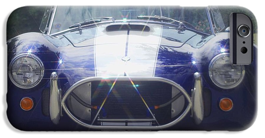 Speed IPhone 6 Case featuring the photograph Ford Cobra by Margaret Fortunato