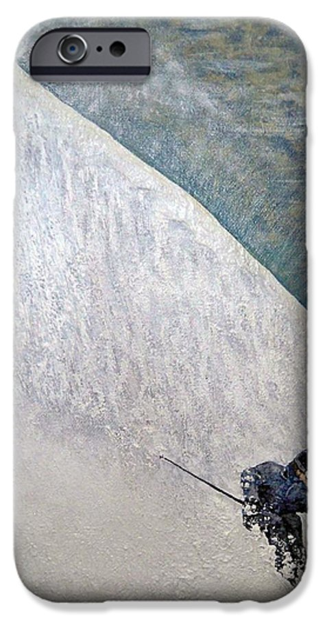Landscape IPhone 6 Case featuring the painting Form by Michael Cuozzo