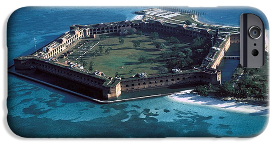 Fort IPhone 6 Case featuring the photograph Fort Jefferson by Carl Purcell