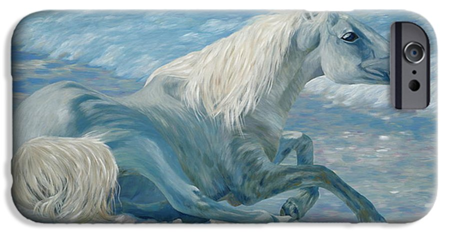 Seascape IPhone 6 Case featuring the painting Free Spirit by Danielle Perry