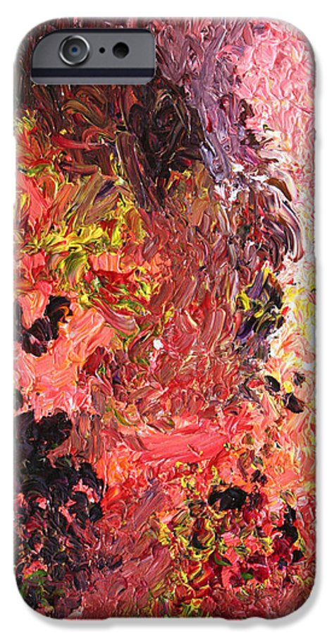 Fusionart IPhone 6 Case featuring the painting Ganesh In The Garden by Ralph White